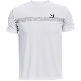 Under Armour Speed Stride Graphic Short Sleeve Shirt Men white-black